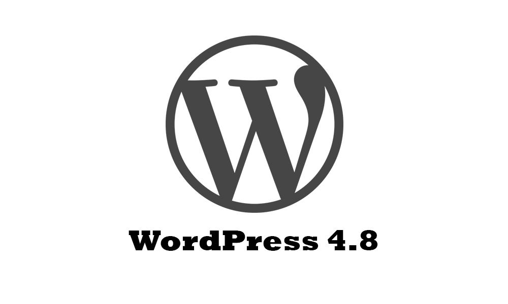 WordPress 4.8 Blog Image