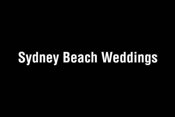 Sydney Beach Weddings